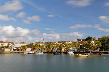 les Trois-Ilets, Martinique, FWI - The village and the seafront (Long exposure)