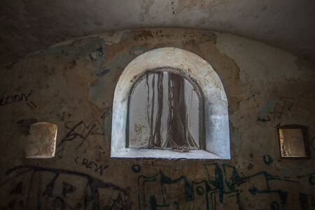Vaulted room in an old small fort in La Pointe du Bout - Les Trois Ilets, Martinique, FWI