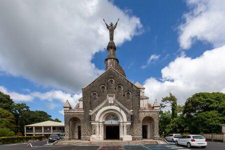 Fort-de-France, Martinique, FWI - Cathedral of Balata Foto de archivo