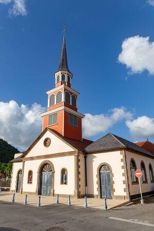 Les Anses d'Arlet, Martinique, FWI - The church