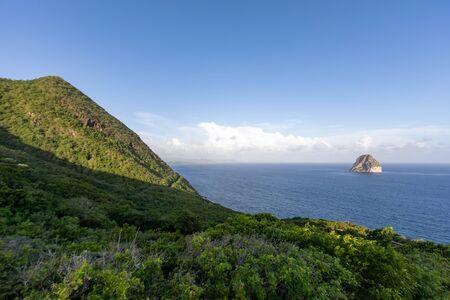 Le Diamant, Martinique, FWI - Morne Larcher and Diamond Rock