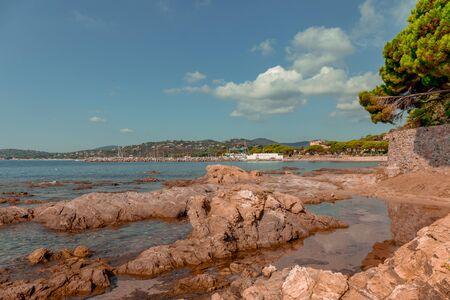 Les Issambres, Var, France - San Peire beach