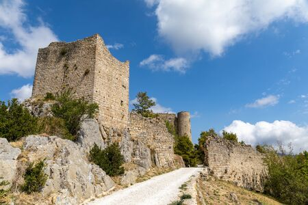 Bargeme, Var, France - The castle