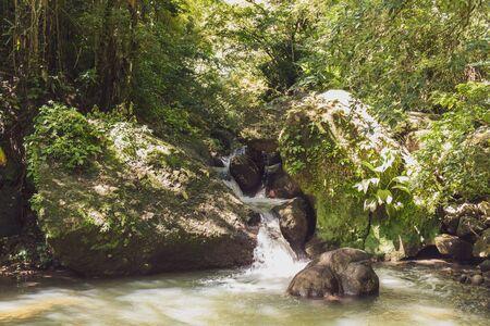 Schoelcher, Martinica, FWI - Río Duclos y cascada Didier Trail