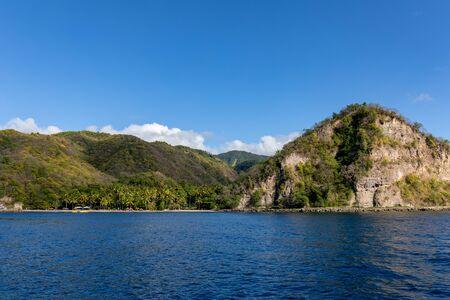 Saint Lucia, West Indies - Anse Mamin beach Foto de archivo