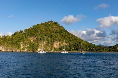 Santa Lucía, West Indies - Bahía de Roseau, cerca de la bahía de Marigot