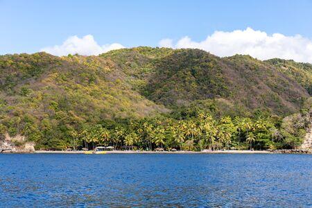 Saint Lucia, West Indies - Anse Mamin beach