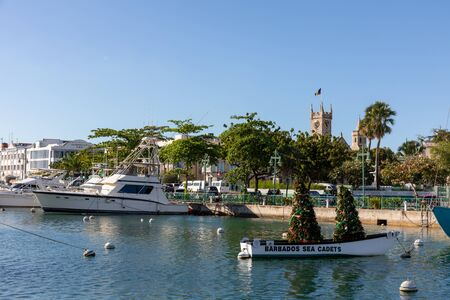 07 JAN 2020 - Bridgetown careenage and waterfront - Barbados Éditoriale