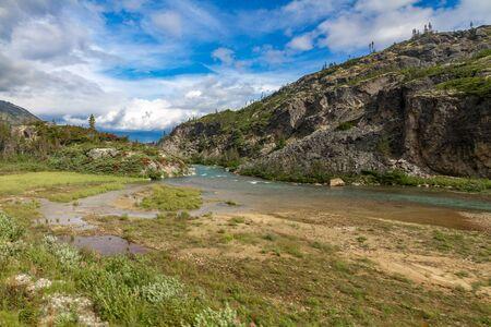 Tutschi River near Fraser - British Columbia between Alaska and Yukon, Canada
