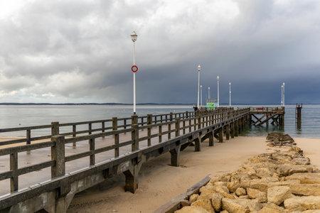 Eyrac Pier in Arcachon, Aquitaine, France