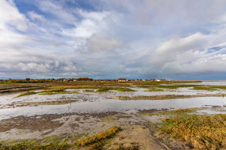 Oyster park in Larros Harbor in Arcachon Bay - Gujan-Mestras, Aquitaine, France