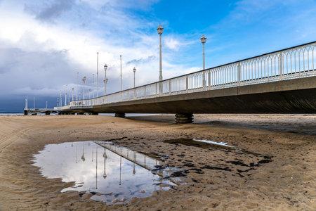 Thiers Pier in Arcachon, Aquitaine, France