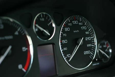 kph: Speed dial Stock Photo