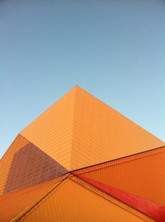 a photo of a modern building in lelystad NL