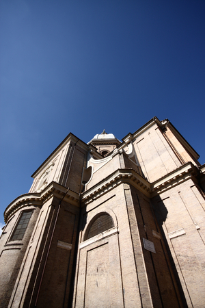 the old church: Old church in Rome