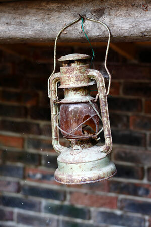 A photo of an old lantern Stock Photo