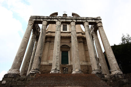 A photo of an old church in Rome