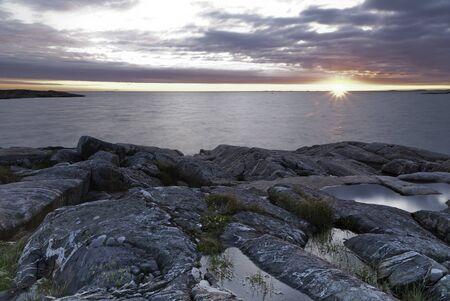 coastline: Sweden west coast, close to Gothenburg