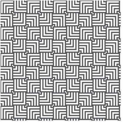 seamless overlapping pattern with a transforming effect 向量圖像