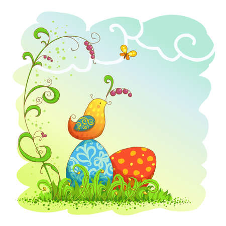 happy easter Stock Vector - 18269128