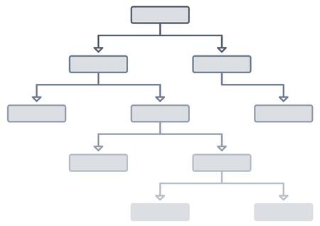 Decision tree Stock Photo