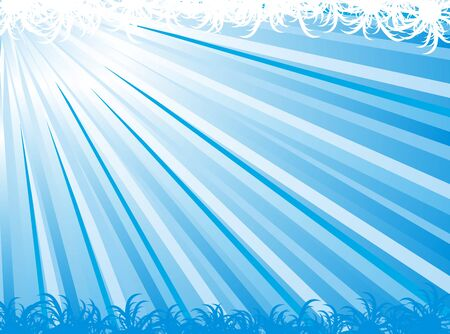 Abstract ray vector for background design Vector