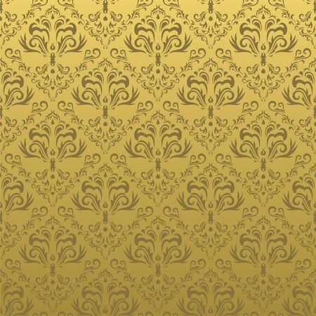 Seamless floral pattern. Nice to use as background. Vector