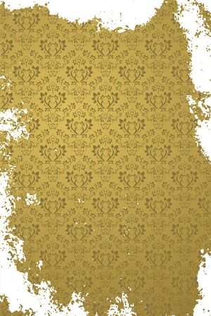 Yellow grunge paper texture background. Nice use as background Vector
