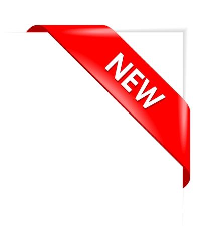 Nieuwe rode hoek business lint