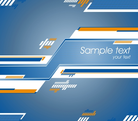 Abstract futuristic design can use as background. Vector