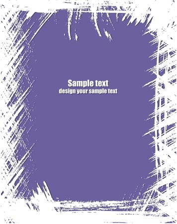 blab: Grunge telaio in colore viola.