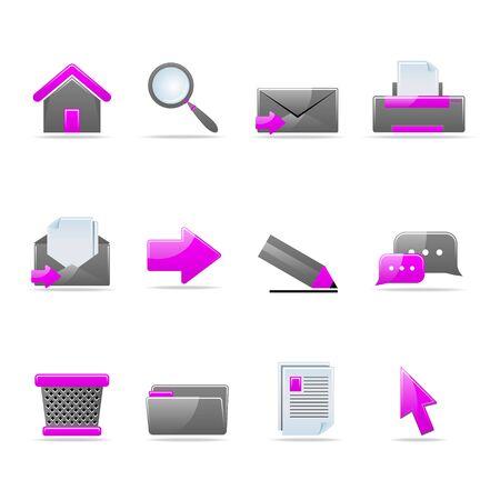notebook icon: Set di icone di lucido web 12 parte 2 (vedi altri nel mio portafoglio)