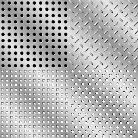 durable: Seamless steel background collection.  illustration. Hight quality.