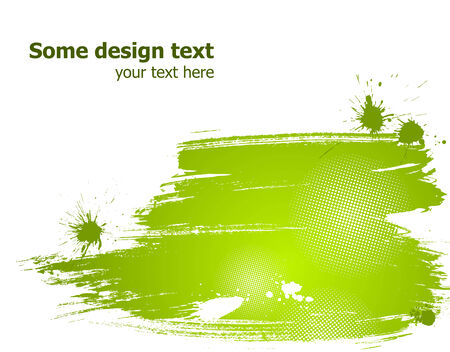 Elegance paint splash background with place for your text. Vector