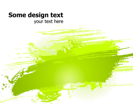 splash paint: Elegance abstract paint splash background with place for your text. Illustration