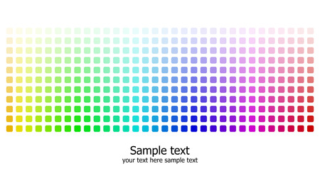 Abstract rainbow colours background. Modern vector illustration. Stock Vector - 6524389