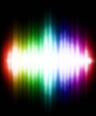 experimentation: Illustration of Color light effect. Beautiful background. Stock Photo