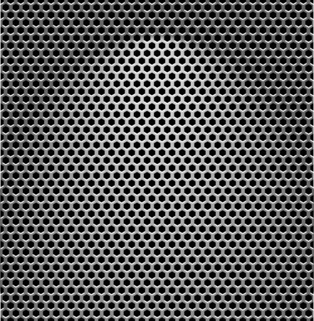 High quality illustration of Steel texture. Vector