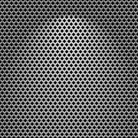 diamond shaped: High quality illustration of Steel texture.