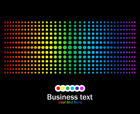 Abstract rainbow colours background.  Vector