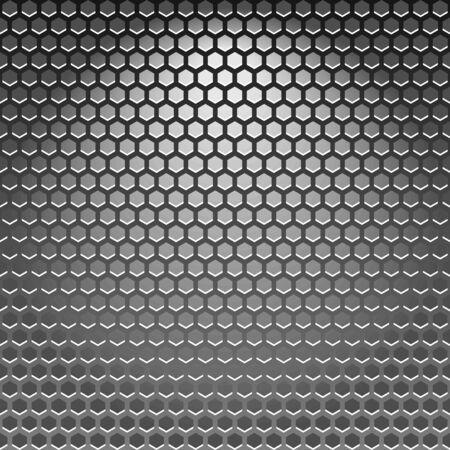 Illustration de la haute qualité de texture acier.