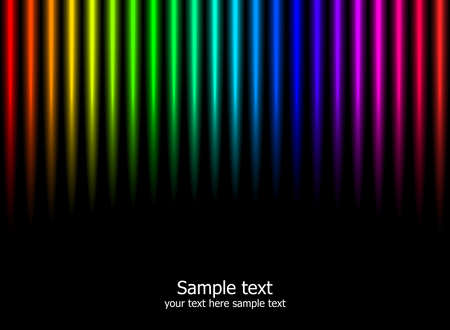 Modern background. Abstract rainbow colours illustration. Vector