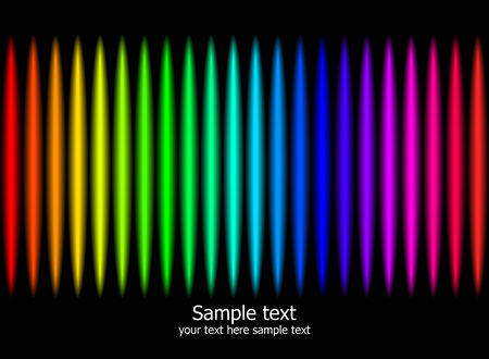 Abstract rainbow colours background. Modern illustration. Stock Vector - 7744818