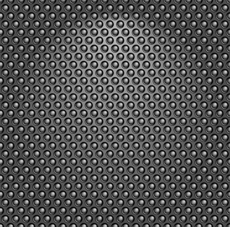High quality illustration of carbon texture.  Vector