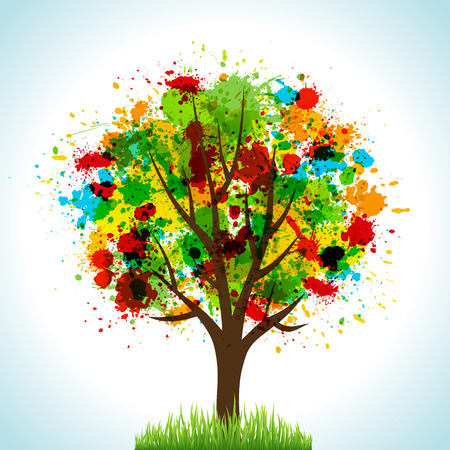 Tree. Concept   illustration for your design. Zdjęcie Seryjne - 7979703