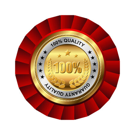golden badge named  Vector