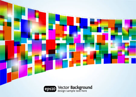 Abstract colorful background.  rectangle design. Business concept. Vector