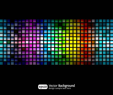 Black business abstract background with color gradients. Modern vector illustration. Vector
