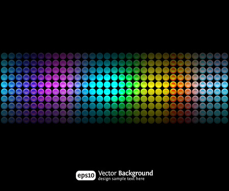 Black party abstract background with color gradients. Business backdrop. Stock Vector - 8497287