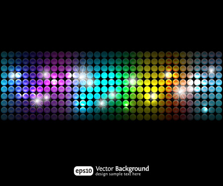 Black party abstract background with color gradients 2. Business backdrop.